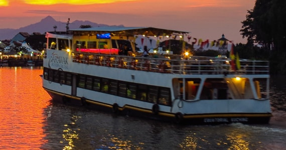 Sunset Boat Cruise Goa India