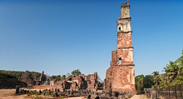 ruins of st augustine, Goa