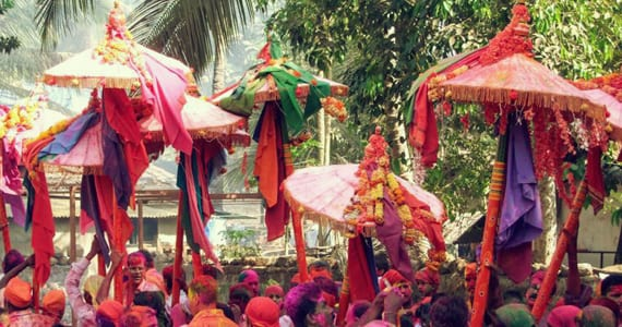 Umbrella Fest in Goa
