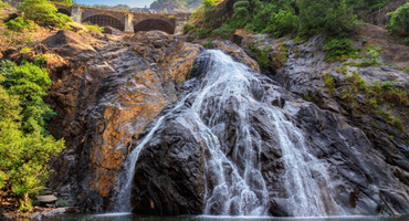 Dudh Sagar Waterfall in Goa India