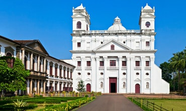 Church of St. Cajetan Goa India