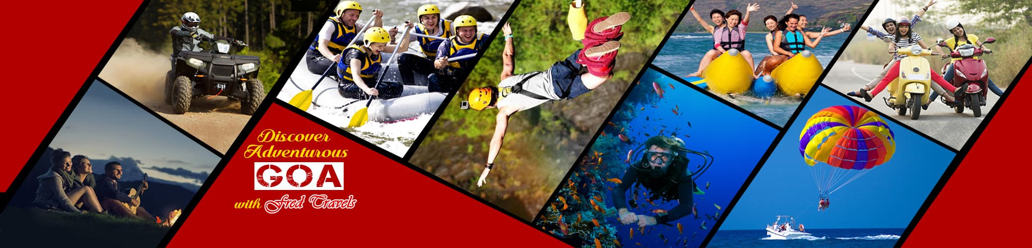Adventure Activities to Experience in Goa