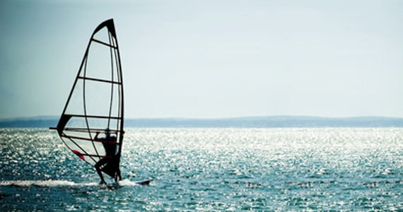 Windsurfing in Goa India